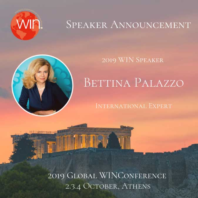 Win conference - Bettina Palazzo